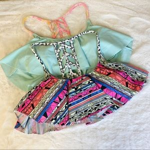 PINK Victoria's Secret Swimsuit Top Halter Bundle